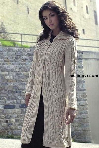 вязаное-пальто-с-косами (400x598, 223Kb)