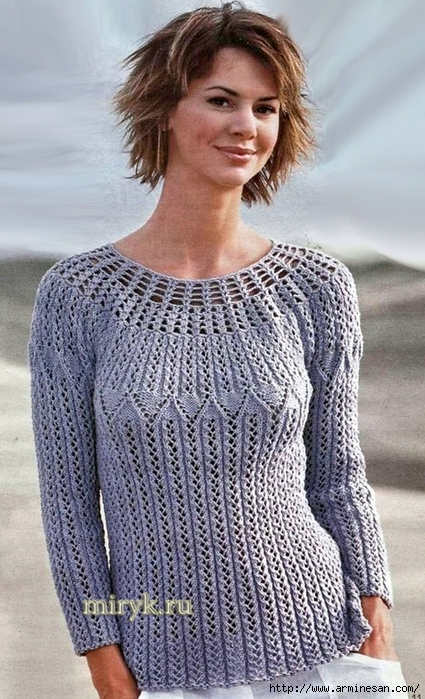 sirenevyj-pulover-s-krugloj-koketkoj (425x700, 285Kb)
