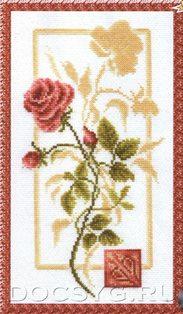 БР-005 Отражение розы (183x314, 78Kb)