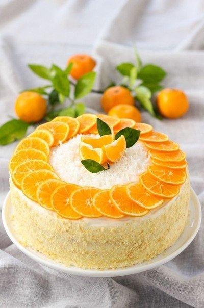 мандариновый торт (400x604, 46Kb)