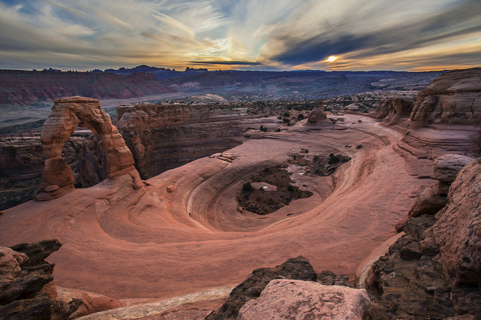 национальный парк арки америка 4 (700x466, 442Kb)