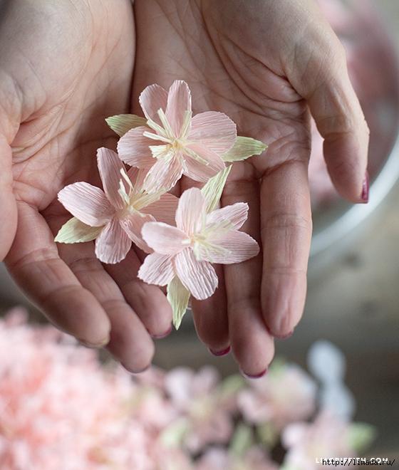 Crepe_Paper_Cherry_Blossom (560x660, 254Kb)