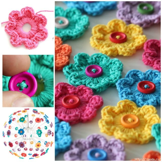 DIY-Crochet-Button-Floral-Wall-Art02 (640x640, 243Kb)