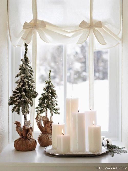 плетение из газет. рождественские идеи (37) (500x666, 140Kb)
