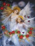 Превью Ангелы Рождества (525x700, 505Kb)