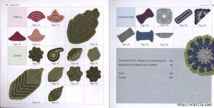 150 Knit & Crochet Motifs_H.Lodinsky_Pagina 14-15 (700x355, 172Kb)