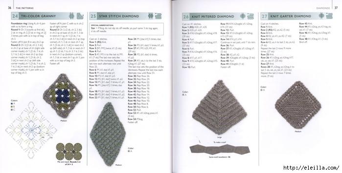 150 Knit & Crochet Motifs_H.Lodinsky_Pagina 36-37 (700x355, 154Kb)