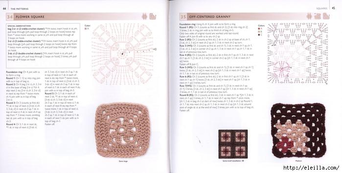 150 Knit & Crochet Motifs_H.Lodinsky_Pagina 44-45 (700x355, 168Kb)