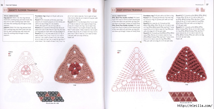 150 Knit & Crochet Motifs_H.Lodinsky_Pagina 56-57 (700x355, 168Kb)