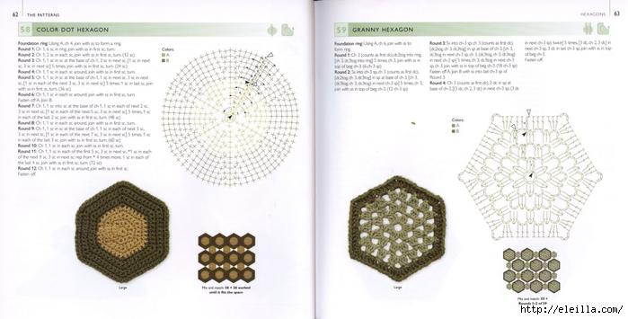 150 Knit & Crochet Motifs_H.Lodinsky_Pagina 62-63 (700x355, 161Kb)