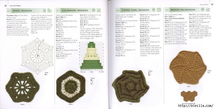 150 Knit & Crochet Motifs_H.Lodinsky_Pagina 66-67 (700x355, 177Kb)