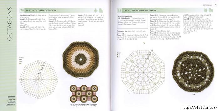 150 Knit & Crochet Motifs_H.Lodinsky_Pagina 70-71 (700x355, 161Kb)