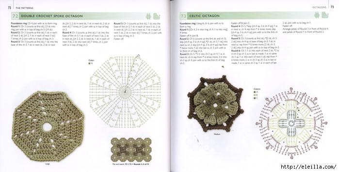 150 Knit & Crochet Motifs_H.Lodinsky_Pagina 72-73 (700x355, 167Kb)