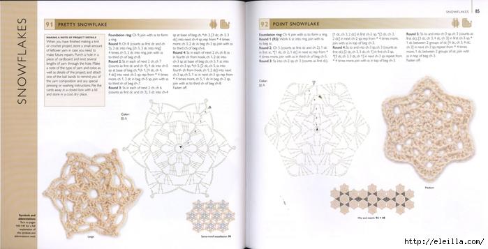 150 Knit & Crochet Motifs_H.Lodinsky_Pagina 84-85 (700x357, 164Kb)