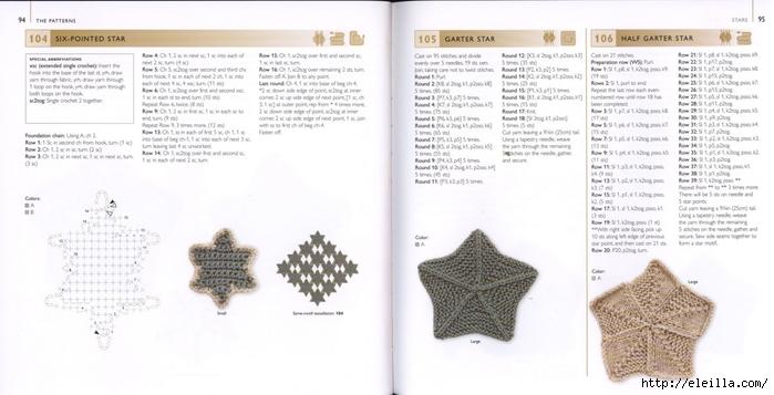 150 Knit & Crochet Motifs_H.Lodinsky_Pagina 94-95 (700x357, 156Kb)