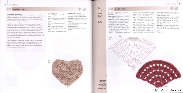150 Knit & Crochet Motifs_H.Lodinsky_Pagina 112-113 (700x357, 152Kb)