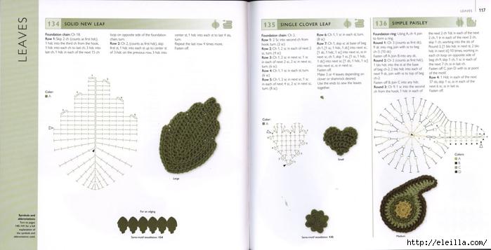 150 Knit & Crochet Motifs_H.Lodinsky_Pagina 116-117 (700x357, 142Kb)