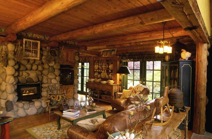 интерьер дома в рустикальном стиле 4 (700x460, 404Kb)