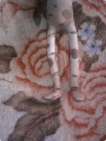 Изготовление каркасной куклы своими руками. Мастер-класс 13