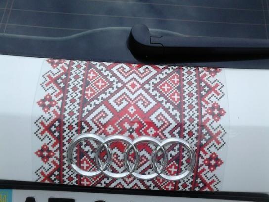 Автовышиванки поддерживают украинский стиль и колорит!