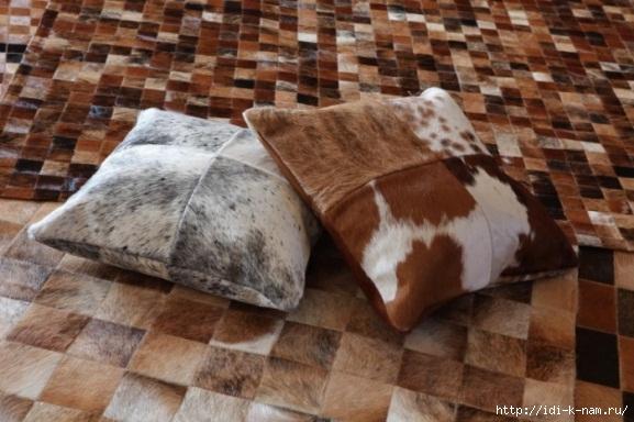 Как сделать коврик из старой дубленки своими руками