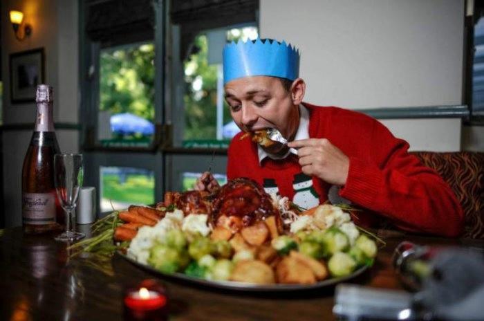 рождественнский ужин книга рекордов гиннеса 1 (700x464, 110Kb)