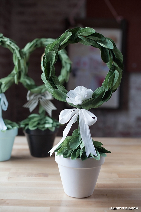 DIY_Crepe_Leaf_Topiary (466x700, 217Kb)