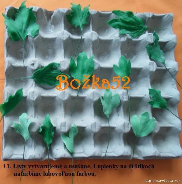 ПИОНЫ из сахарной мастики для свадебного торта (12) (594x600, 167Kb)