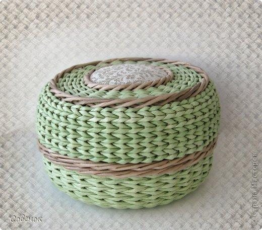 Плетем круглую шкатулку из бумаги. Бесподобно качественный и подробный мастер-класс!/1783336_0000_ (520x457, 61Kb)