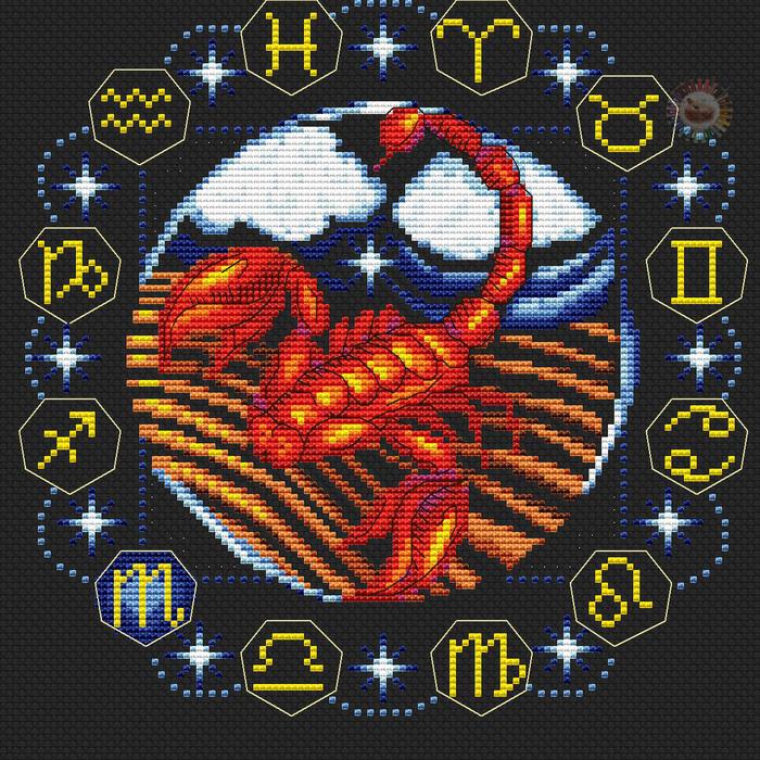 Скорпион (700x700, 367Kb)