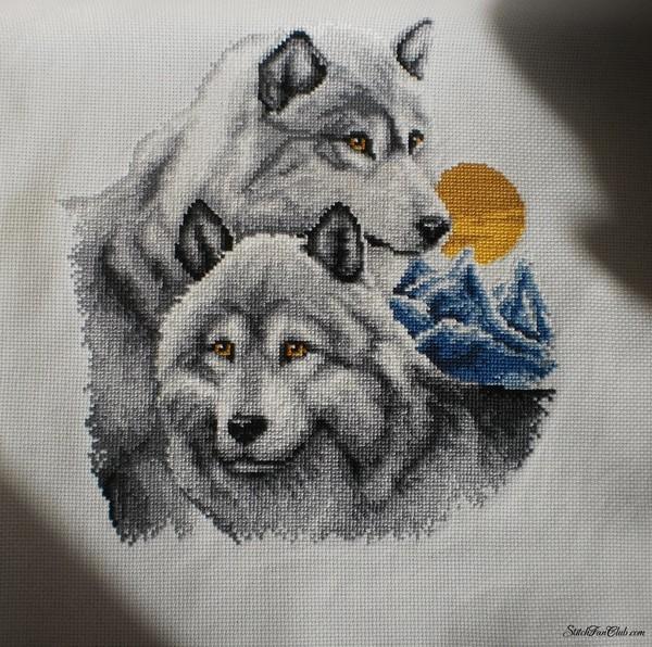 волки 1 (600x596, 345Kb)