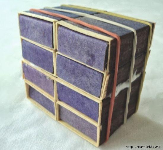 Комодик из спичечных коробков (8) (550x504, 115Kb)