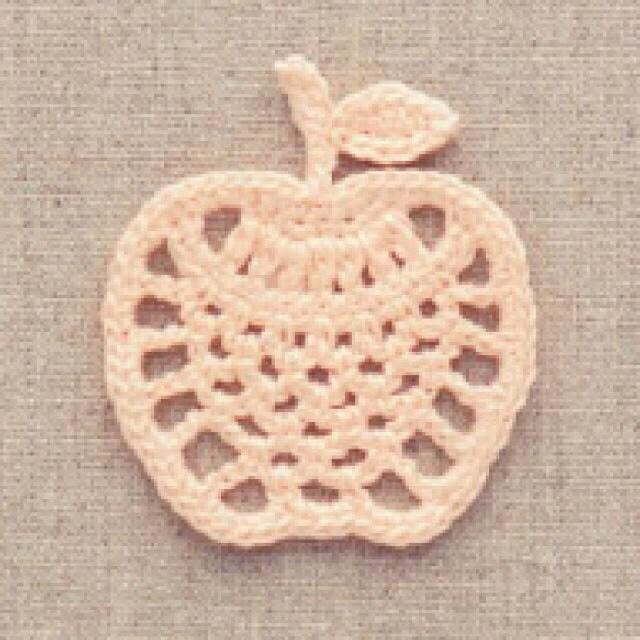 яблоко крючком - Самое