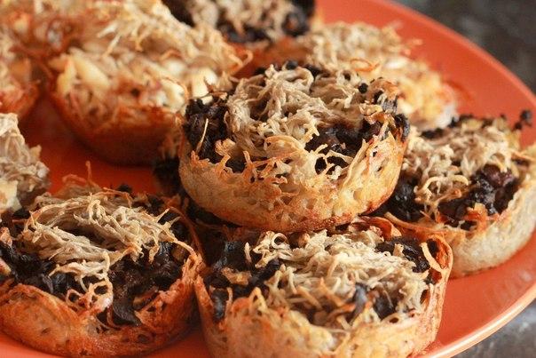 Картофельные корзинки с грибами (604x403, 70Kb)