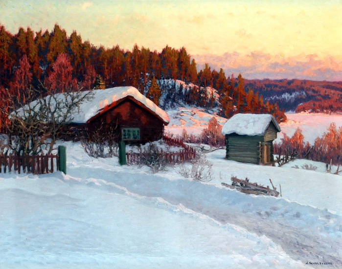 Anshelm Leonard SchultzbergSwedish,  1862-1945 (700x551, 154Kb)