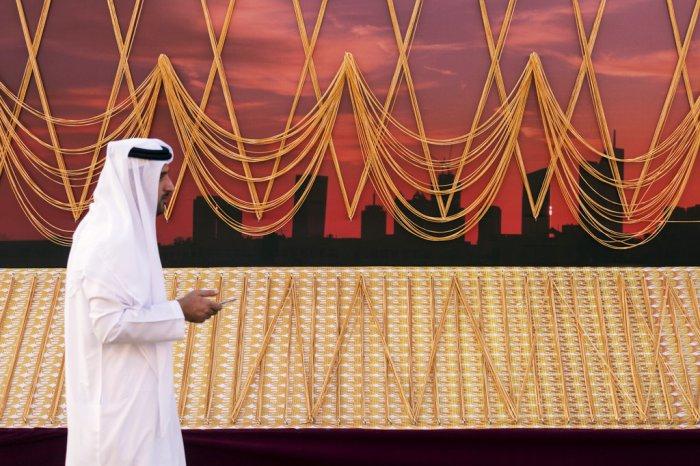самая длинная золотая цепь в мире дубай 3 (700x466, 365Kb)