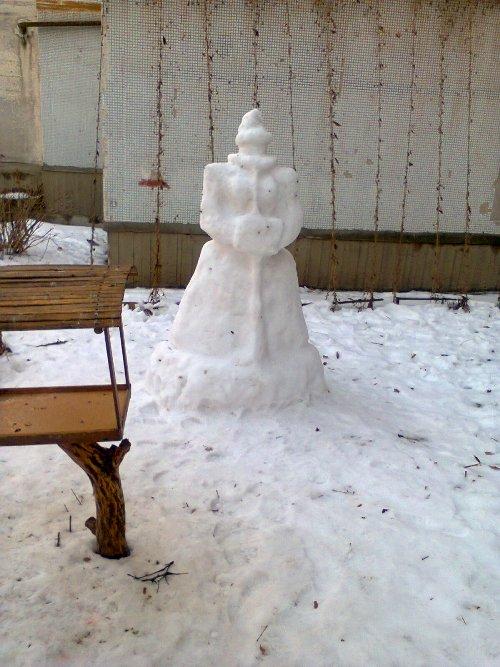 Снежная баба (500x667, 78Kb)