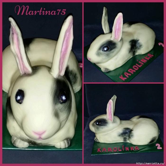 Кролик из мастики для сладкого 3D торта (10) (700x700, 252Kb)