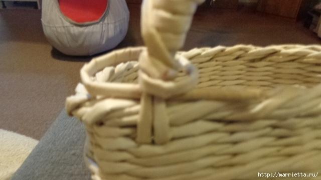 Способ плетения ручки для корзинки из газет (27) (640x360, 142Kb)