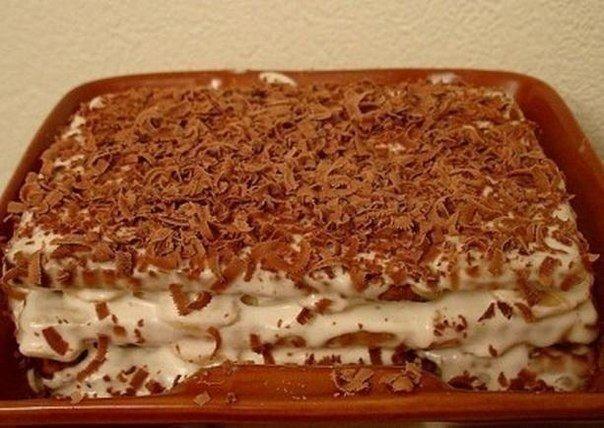 торт из печенья и бананов (604x428, 233Kb)