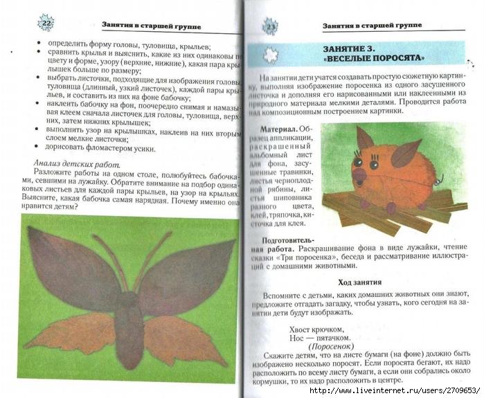 Апликация из природного материала в детском саду.page12 (700x575, 312Kb)