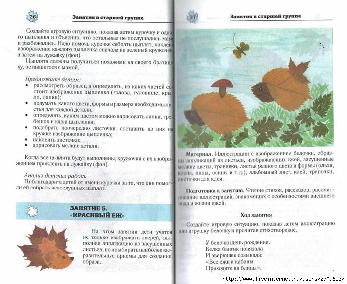 Апликация из природного материала в детском саду.page14 (700x574, 308Kb)