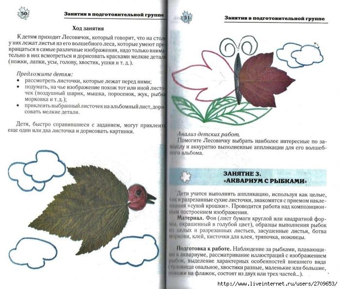 Апликация из природного материала в детском саду.page26 (700x594, 295Kb)