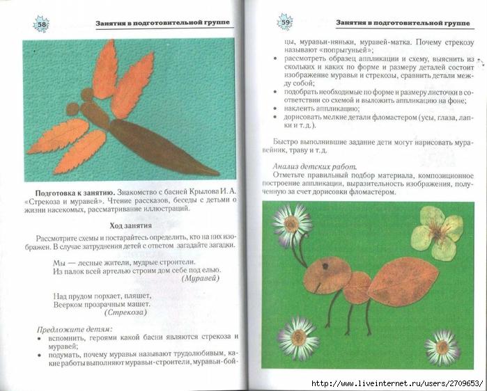 Апликация из природного материала в детском саду.page30 (700x562, 287Kb)
