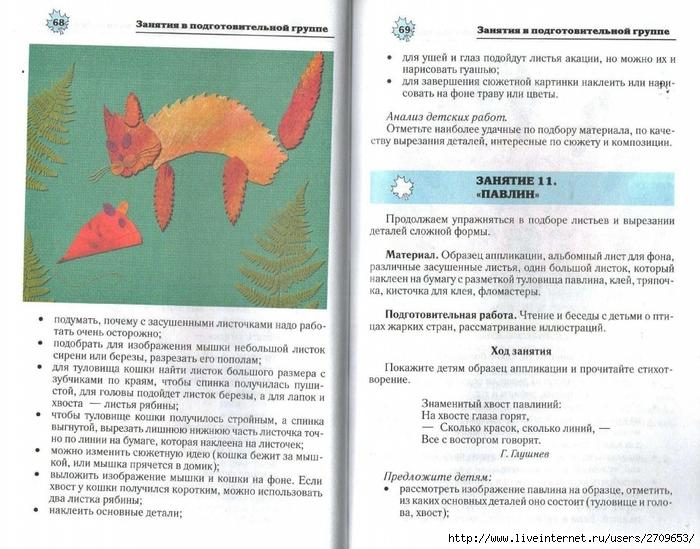 Апликация из природного материала в детском саду.page35 (700x549, 298Kb)