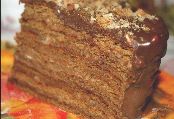 Шоколадный торт (586x401, 55Kb)