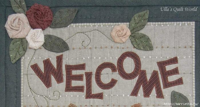 Текстильное панно с цветами из ткани (2) (700x374, 244Kb)