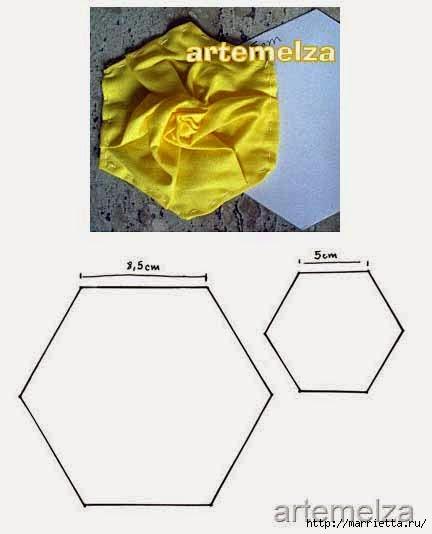 Текстильное панно с цветами из ткани (6) (432x534, 62Kb)