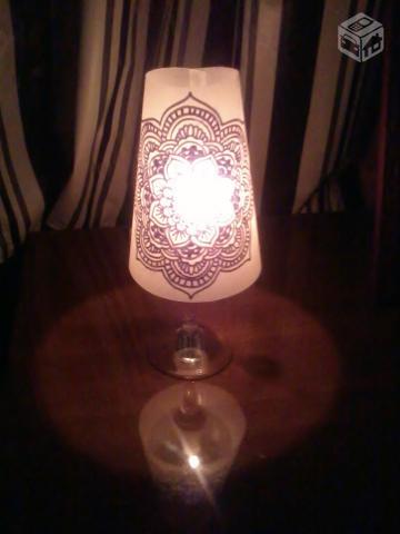 Candelabros para una noche romántica de vasos de vino (6) (360x480, 102Kb)