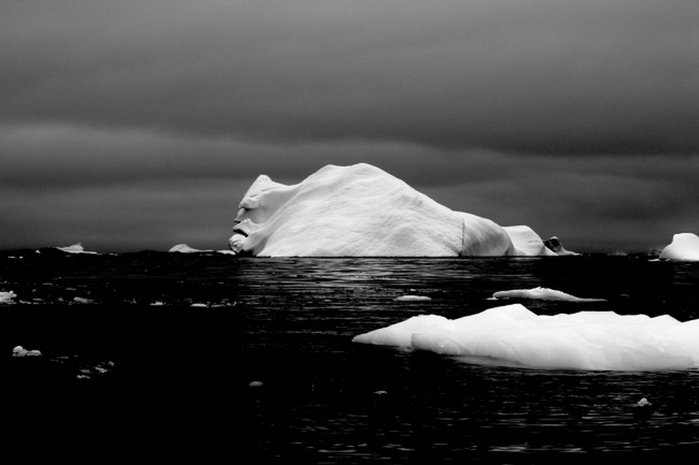 Лицо айсберга (700x465, 127Kb)